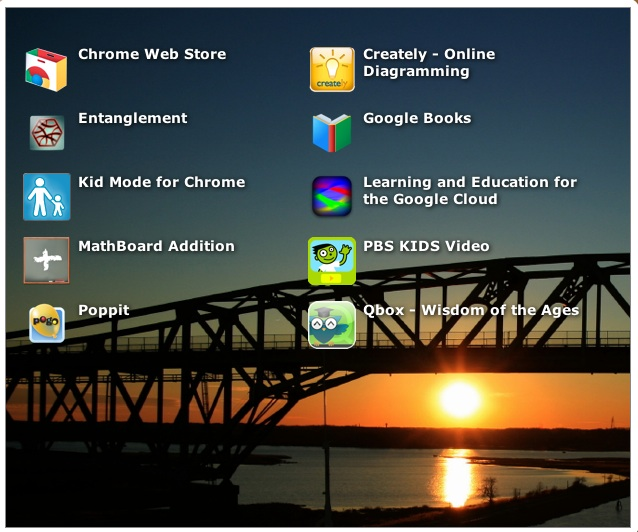 favorite Chrome apps